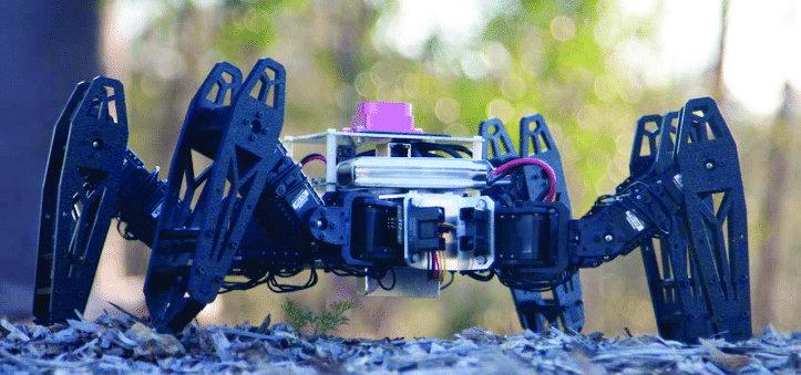 Hexapod robotic set by Trossen Robotics