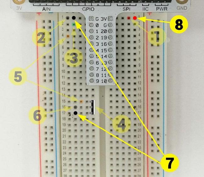 Montage électronique pour micro:bit : arrosage automatique - étape 3
