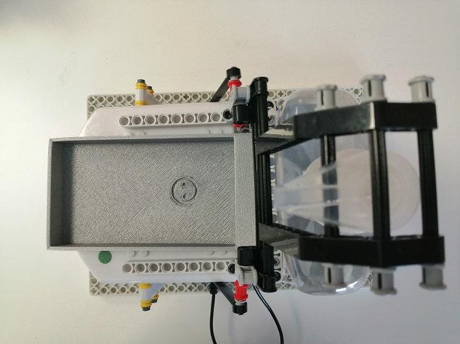 3D printed receptacle