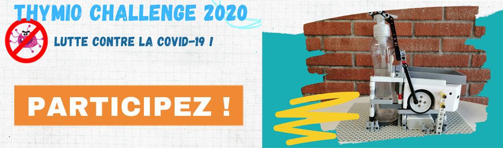 Participez au Thymio 2020 Challenge