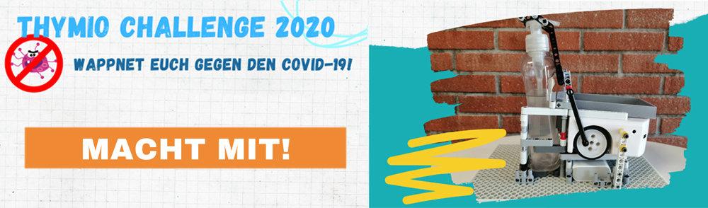 Nehmen Sie am Challenge Thymio 2020 teil!