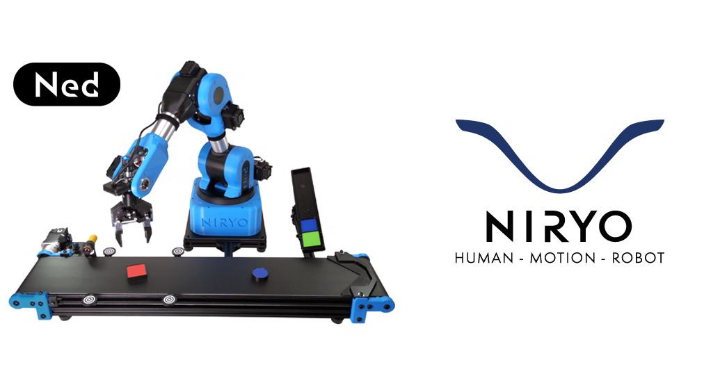 Niryo NED, un bras Niryo pour les utilisateurs avancés