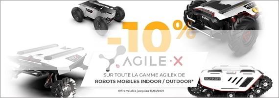 10% de remise sur la gamme Agilex