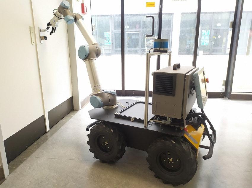 Roboter Husky, eine autonome mobile Plattform
