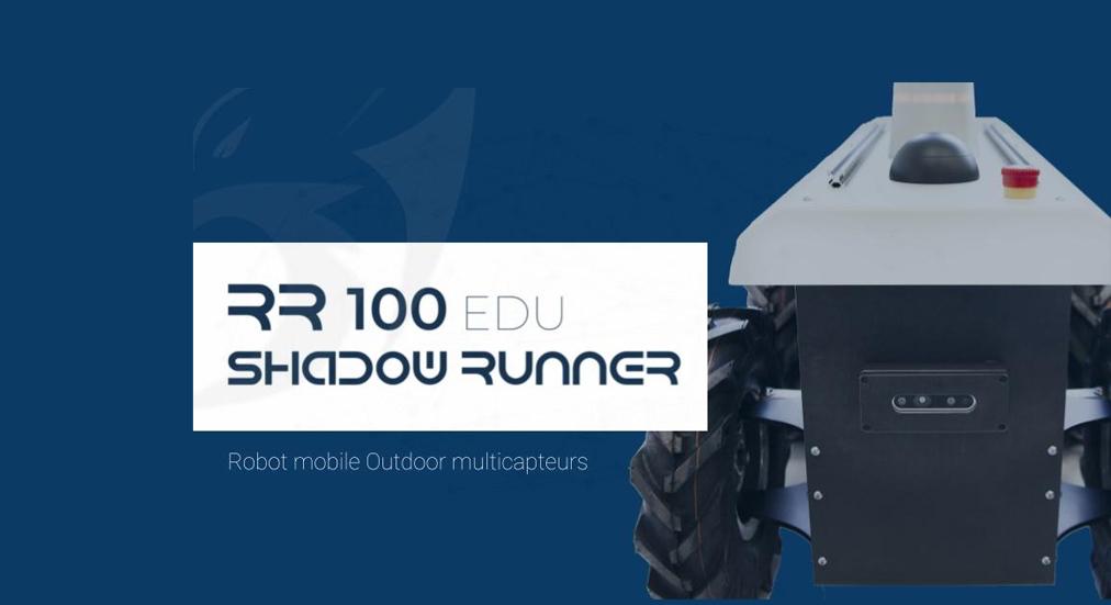 Shadow runner RR100: Une base mobile robotique multi-capteurs et hautement extensible