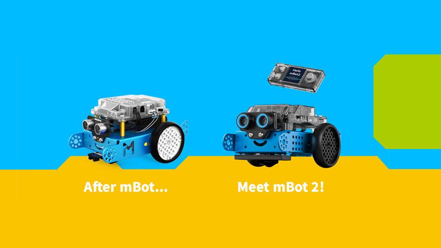Différences entre le mBot et le mBot 2