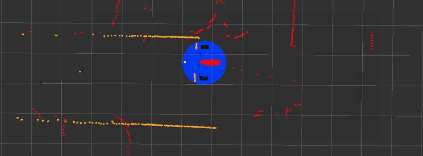 Les filtres à particules pour l'auto-localisation du robot