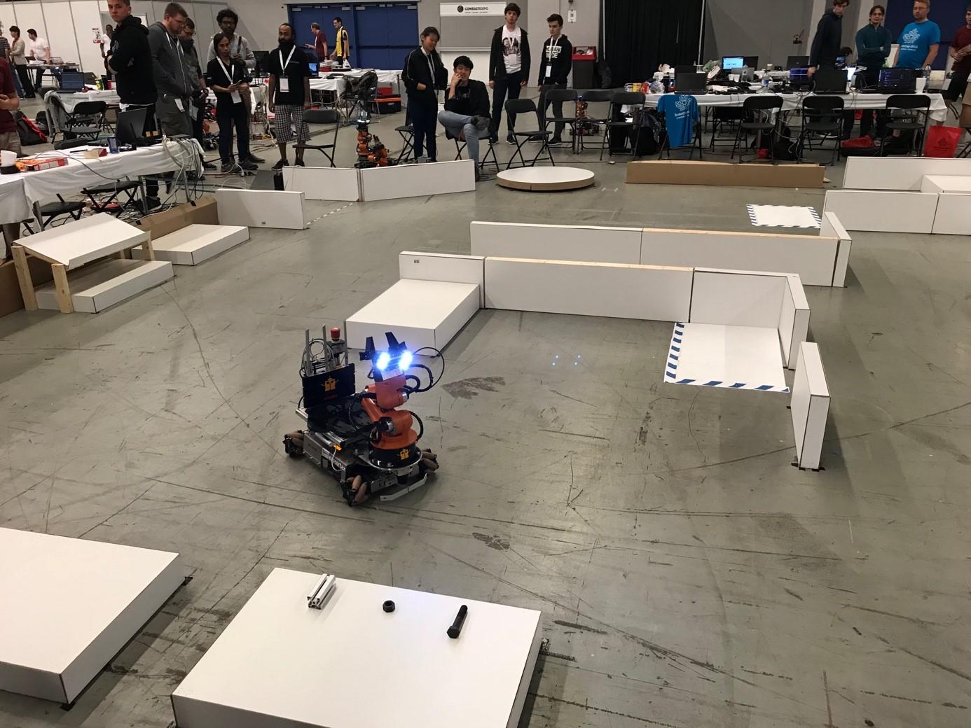 Ligue Logistique et robots Youbot
