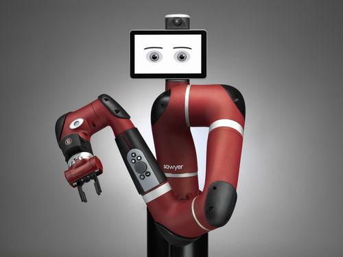 le dernier robot collaboratif de Rethink Robotics Sawyer possède 7 degrés de liberté