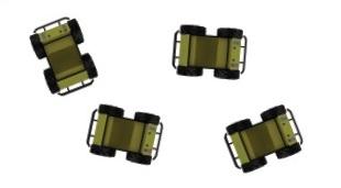 Die mobile Außenplattform Husky A200 bietet die Möglichkeit, Multi-Roboter-Systeme zu entwickeln und zu testen