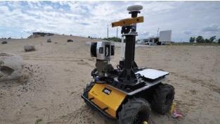 Die mobile Außenplattform Husky A200 besitzt parametrierbare Systeme, die Auskunft über ihren aktuellen Zustand geben