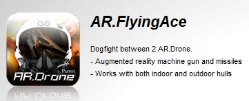 AR.FlyingAce, augmented reality games for AR.Drone on Iphone