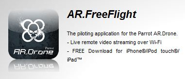 AR.Free Flight, augmented reality games for AR.Drone on Iphone