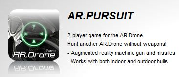 AR.Pursuit, augmented reality games for AR.Drone on Iphone