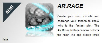 AR.Race, augmented reality games for AR.Drone on Iphone