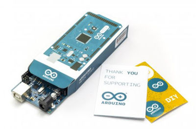 Arduino Mega 2560 Rev3 board with packaging