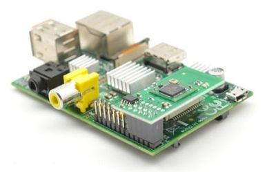 RaZberry Z-Wave connected to a Raspberry Pi