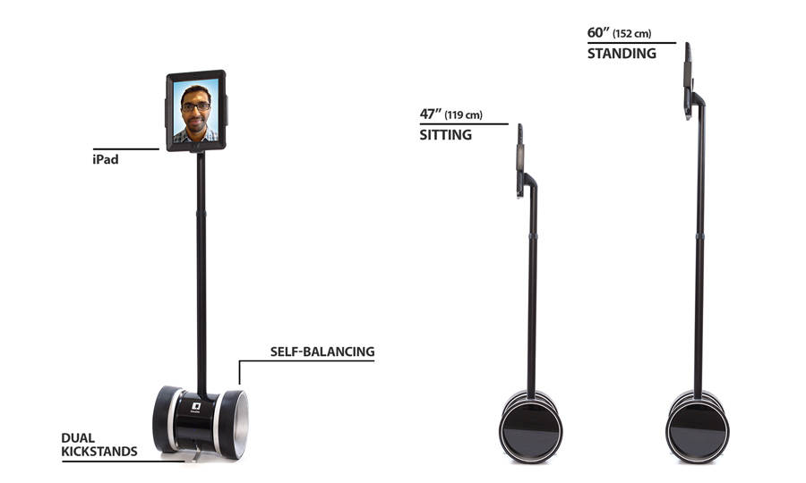 Key features of Double telepresence robot