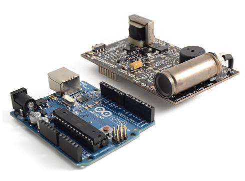 Laser entfernungsmesser arduino einfache lidar daten mit hilfe