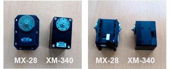 Servomoteurs XM-430 vs MX-28