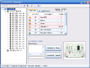 RoboPlus Manager for Bioloid Premium