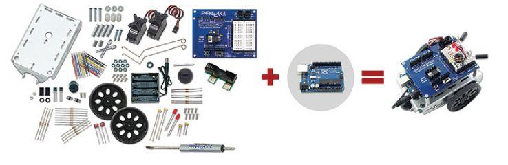 Boe Shield for Arduino robot Parallax
