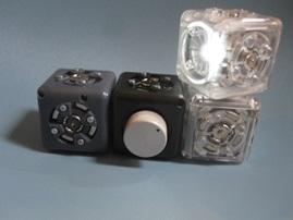 Cubelets capteurs et actuateurs