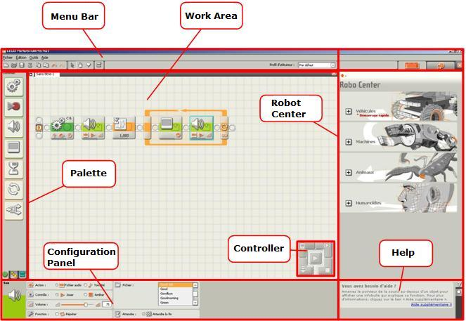 NXT-G: the development environment supplied with Lego Mindstorms, NXT-G