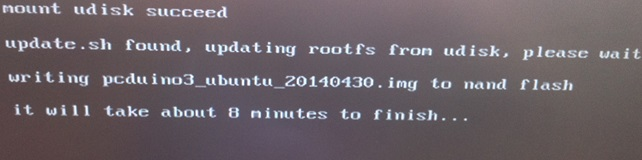 Instructions pour installation Ubuntu sur pcDuino3