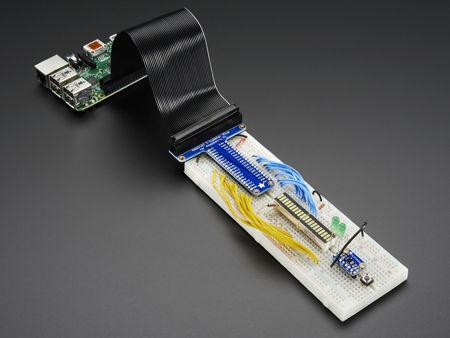 Réalisez vos prototypes sans soudures avec le Pi T-Cobbler Plus GPIO Breakout