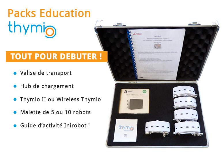 Robot mobile éducatif Thymio II