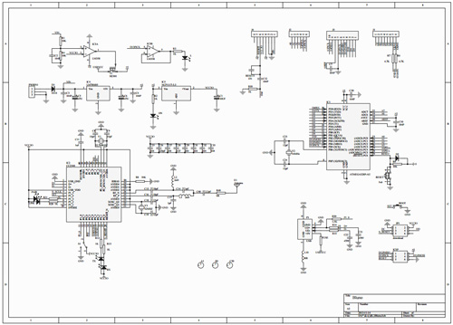 Bluno Bluetooth 4.0 Microcontroller schematics