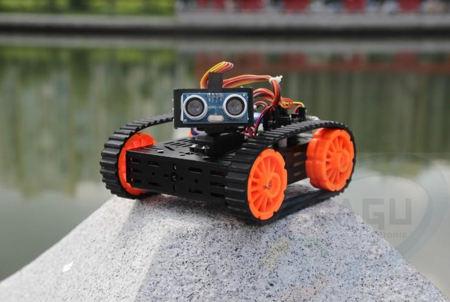 Chassis DG012-SV mit Sensor