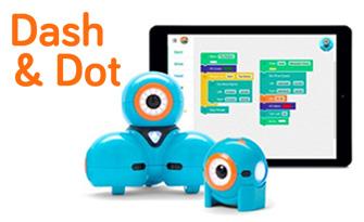 Robots éducatifs Dash & Dot