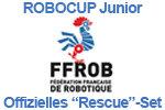 """Offizielles FFROB """"Rescue""""-Set für den RoboCup Junior 2018"""