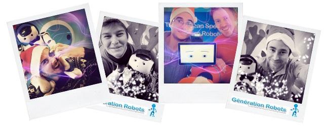 Selfies-Equipe Ingenieurs-Generationrobots-GenRobXmas