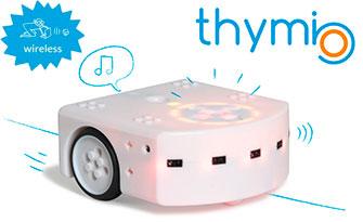 Wireless Thymio robot for education