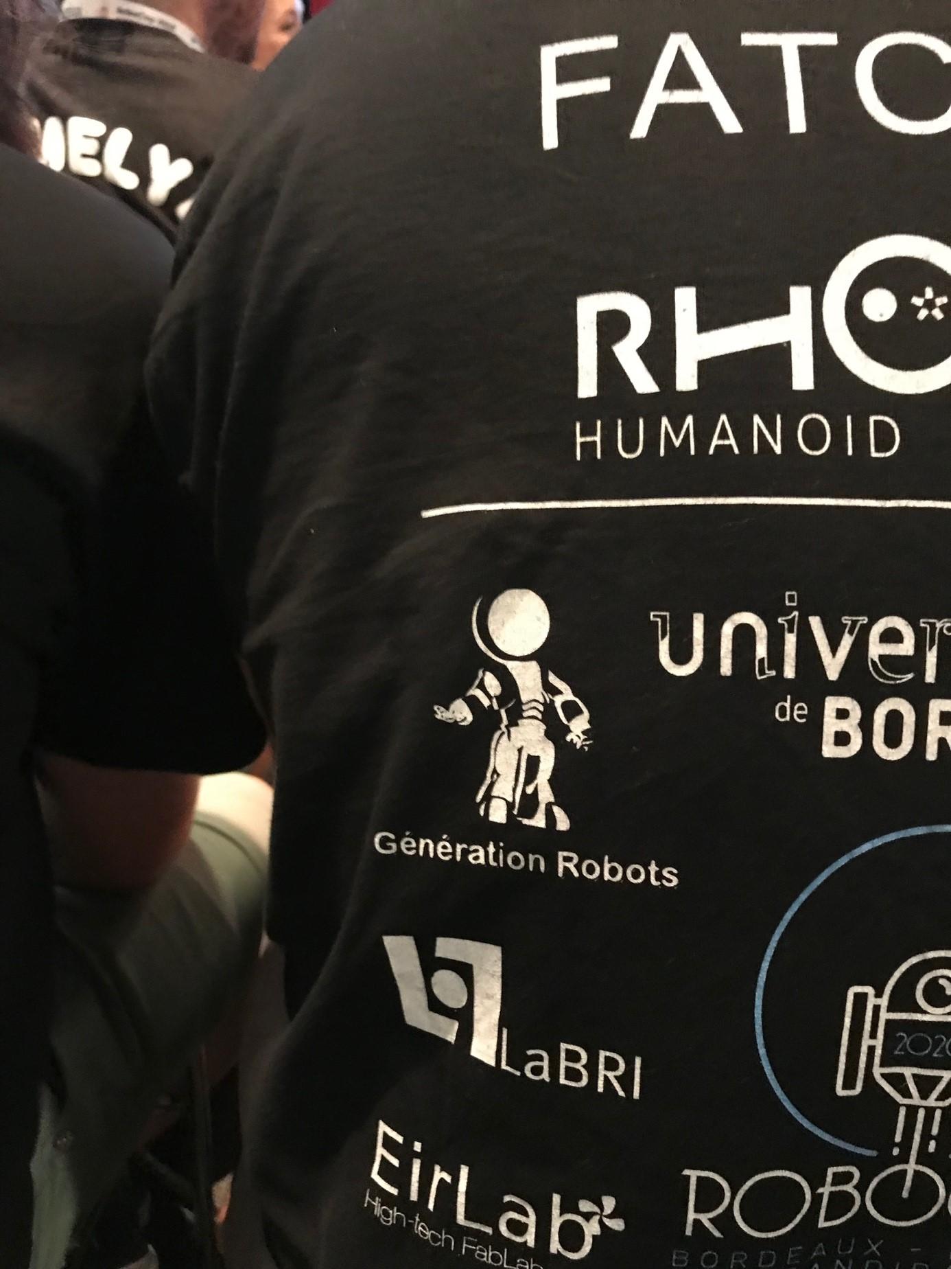 Sponsor de l'équipe Rhoban