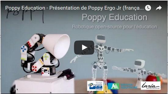 Poppy Ergo Jr éducation