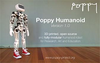 Plateforme Poppy pour l'éducation