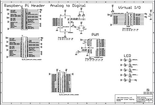 FEZ Utility technical schematics