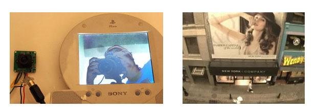Caméra vidéo série Jpeg avec LED infrarouge : photos intérieures et extérieures