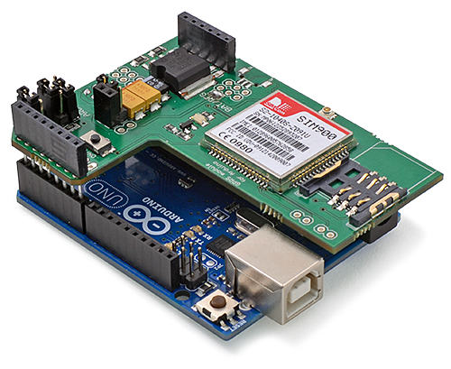 GPRS Quadband SIM900-Modul für Arduino