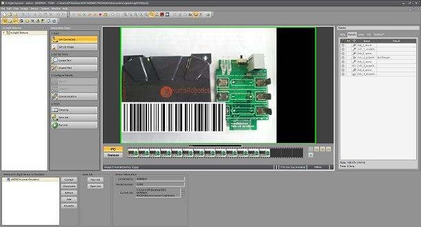 cognex insight 7200 software