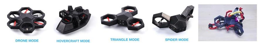 Drone multiforme Airblock de MakeBlock