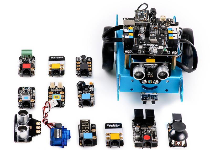 Sensoren und Aktoren für Roboter mBot