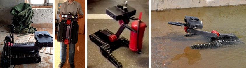 Robot Engineer Servosila Wartung und Baustellen im städtischen und Industriellen Bereich