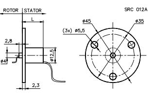 Schleifringe SRC-012A-12AB