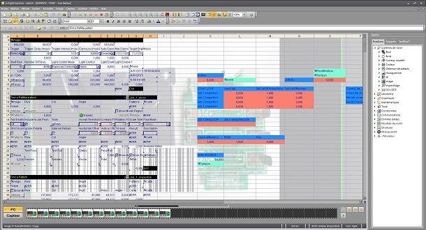 cognex insight 7200 spreadsheet