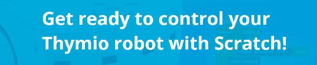 Kontrollieren Sie Ihren Thymio Roboter mit Scratch!